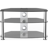 VIVANCO Brisa 800 S TV Stand - Smoked