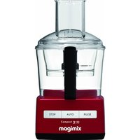 MAGIMIX C3160 Food Processor - Red, Red
