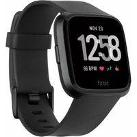 Fitbit Versa Classic Band - Black, Small, Black