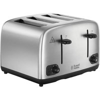 Buy RUSSELL HOBBS 24094 4-Slice Toaster - Stainless Steel, Stainless Steel - Currys