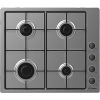 CANDY CHW6LBX Gas Hob - Stainless Steel, Stainless Steel
