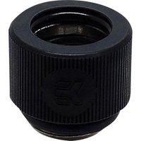 EK HD Hard Tube Fitting   12 mm  Black  Black