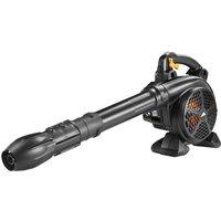 MCCULLOCH GBV 322VX Cordless Garden Vacuum and Leaf Blower - Black, Black