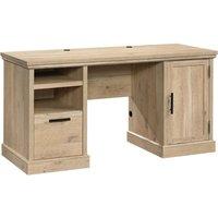 TEKNIK 5427030 Executive Desk - Oak.
