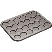 MASTER CLASS Non-stick 24-hole Whoopie Pan - Black, Black