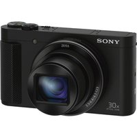 SONY Cyber-shot DSC-HX90B Superzoom Compact Camera - Black, Black