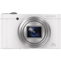 Sony Cyber-shot Cyber-shot Dsc-wx500w Superzoom Compact Camera - White, White at Currys Electrical Store