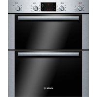 BOSCH Avantixx HBN43B250B Electric Built-under Double Oven - Brushed Steel, Brushed Steel