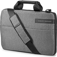HP Signature Slim Topload 14 Laptop Case - Grey, Grey