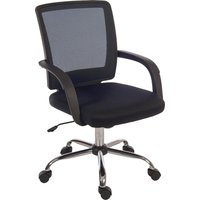 TEKNIK Star Mesh 6910BK Fabric Reclining Executive Chair - Black, Black
