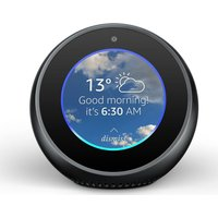 AMAZON Echo Spot - Black, Black