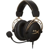 Hyperx Cloud Alpha Gaming Headset - Black & Gold, Black