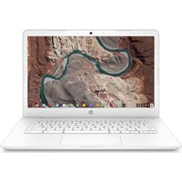 "HP 14-ca051sa 14"" Intel Celeron Chromebook - 32 GB eMMC, White, White"