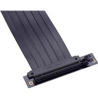 Flatline PH CBRS FL22 220 mm PCI E X16 Riser Cable   Black  Black