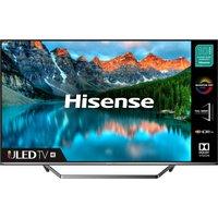 "50"" HISENSE 50U7QFTUK Smart 4K Ultra HD HDR QLED TV with Amazon Alexa"