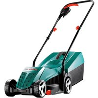 BOSCH Rotak 32 R Corded Rotary Lawn Mower - Black and Green, Black