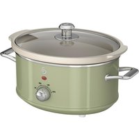 SWAN Retro SF17021GN Slow Cooker - Green, Green