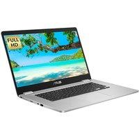 "ASUS C523 15.6"" Chromebook - Intelu0026regCeleron, 64 GB eMMC, Silver, Silver"