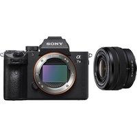 SONY a7 III Mirrorless Camera & FE 28-60 mm f/4-5.6 Lens Bundle, Black.