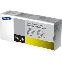 SAMSUNG CLT-Y406S Yellow Toner Cartridge, Yellow