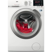 AEG ProSense L6FBG842R Washing Machine - White, White