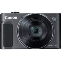 CANON PowerShot SX620 HS Superzoom Compact Camera - Black, Black