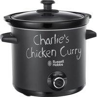 Russell Hobbs Chalk Board 24180 Slow Cooker - Black, Black