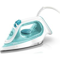 BRAUN TexStyle 3 SI3041.GR Steam Iron - Green, Braun