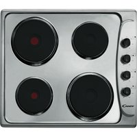 CLE64X Electric Solid Plate Hob - Stainless Steel, Stainless Steel