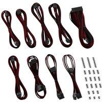 CABLEMOD Classic ModMesh C-Series RMi & RMx Power Cable Kit - Black & Red, Black