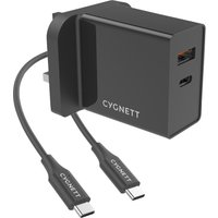 CYGNETT PowerPlus 2-Port Universal USB Charger - 1.5 m.