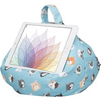 IBEANI Bean Bag Tablet Stand - Cool Cats