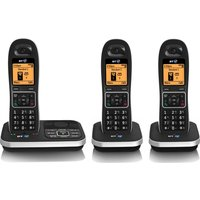 BT 7610 Cordless Phone with Answering Machine - Triple Handsets