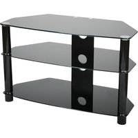 VIVANCO Brisa 800 B TV Stand - Black, Black