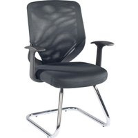 ALPHASON Atlanta Visitor Chair - Black, Black