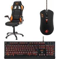 AFX Gaming Chair, Mouse & Keyboard Gaming Bundle