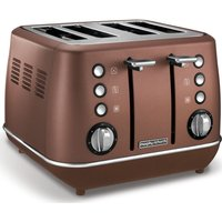 Buy MORPHY RICHARDS Evoke 4-Slice Toaster - Bronze, Bronze - Currys PC World