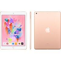 "APPLE 9.7"" iPad - 128 GB, Gold (2018), Gold"