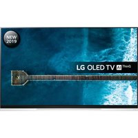 "55"" LG OLED55E9PLA  Smart 4K Ultra HD HDR OLED TV with Google Assistant, Black"