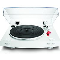 AUDIO TECHNICA AT-LP3 Belt Drive Turntable - White, White