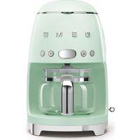 SMEG 50s Retro DCF02PGUK Filter Coffee Machine - Pastel Green, Green