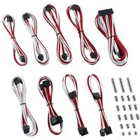 CABLEMOD Classic ModMesh RT-Series ASUS ROG/Seasonic Cable Kit - White & Red, White