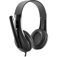 CANYON CNS-CHSC1B Headset - Black, Black