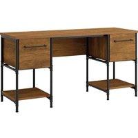 TEKNIK Iron Foundry 5427134 Desk - Checked Oak.