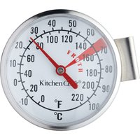 KITCHEN CRAFT Milk Frothing Thermometer - Stainless Steel, Stainless Steel