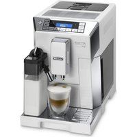 DELONGHI Eletta Cappuccino Top ECAM45.760W Bean to Cup Coffee Machine - White and Silver, White