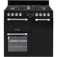 LEISURE Cookmaster 90 Gas Range Cooker - Black, Black