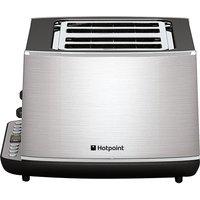 HOTPOINT TT 44E AX0 4-Slice Toaster - Stainless Steel, Stainless Steel