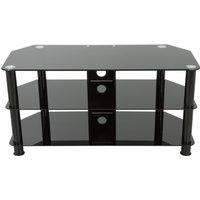 AVF SDC1000CMBB 1000 mm TV Stand - Black, Black