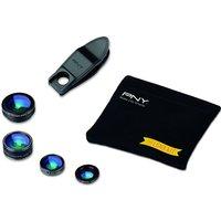 PNY 4-in-1 Clip-on Smartphone Lens Kit